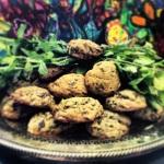 Gluten Free Kale Cookies